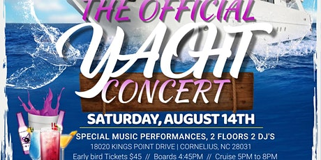 The Official Yacht Concert tickets