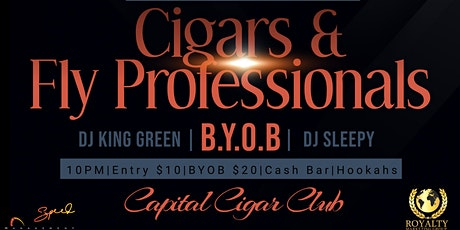 NIGHT OF CIGARS & FLY PROFESSINALS tickets