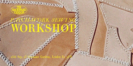 Patch-Work Sewing Workshop tickets