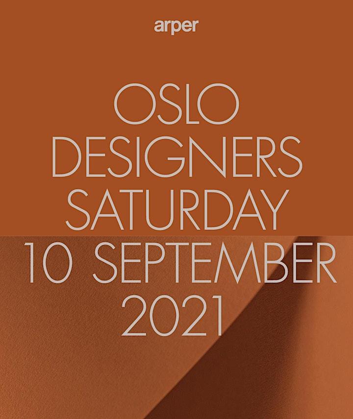 Arper at Designers' Saturday Oslo - Friday, 10 September image