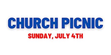 July 4th Church Picnic! tickets