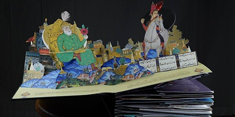 Pop-Up Book Workshop with Hamid Rahmanian and Simon Arizpe tickets