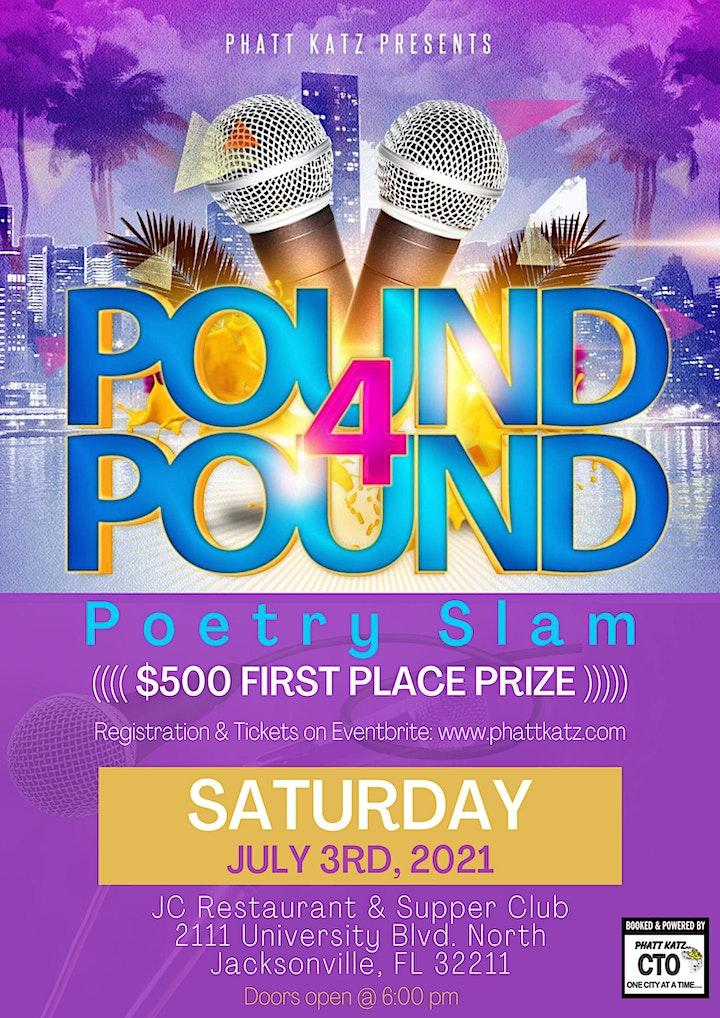 PK Pound 4 Pound $500 Poetry Slam image