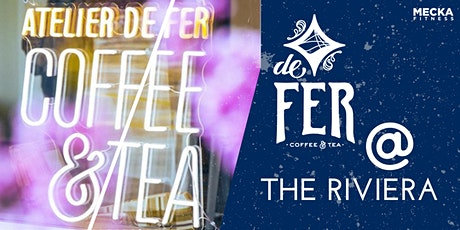 De Fer Happy Hour + Yoga at the Riviera! tickets