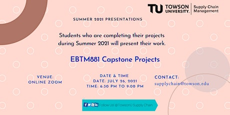 Summer 2021 Capstone Projects - Online Event tickets