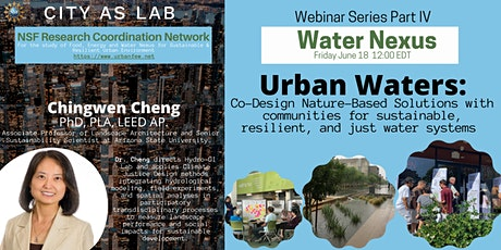 Urban Waters: Co-Design Nature-Based Solutions tickets