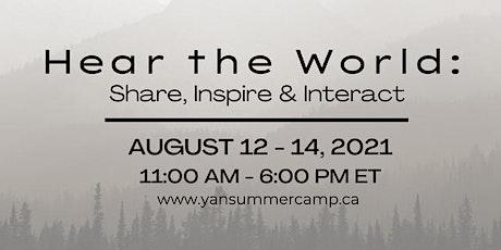 YAN 2021 Virtual Summercamp tickets
