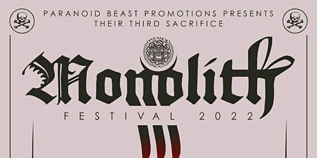 Monolith 2022 tickets