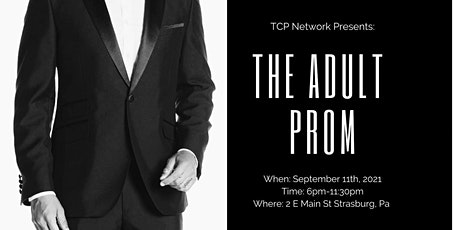 Adult Prom 2021- Hosted by TCP Network tickets