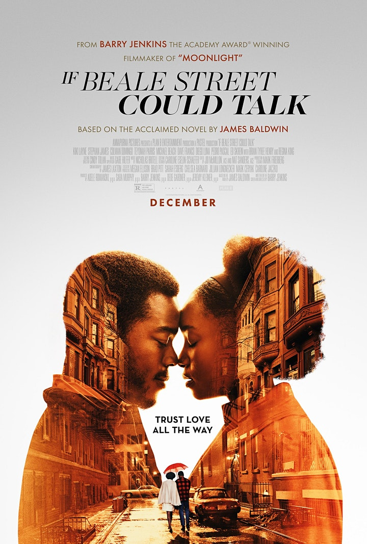 Outdoor Social Justice Film Series - If Beale Street Could Talk (2018) image