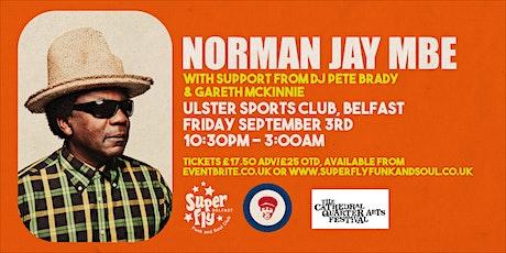 Norman Jay Mbe tickets