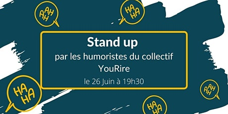 Spectacle Humour - Stand up avec le Collectif Yourire. billets