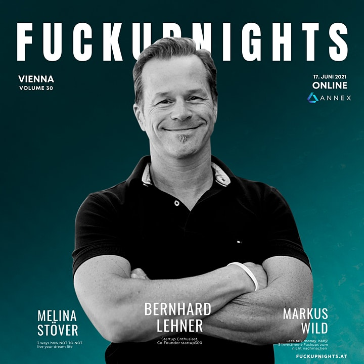 Fuckup Nights Vienna Vol. 30 | Livestream: Bild