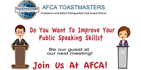 Let Us Help You Get Started On Your Public Speaking Journey! tickets