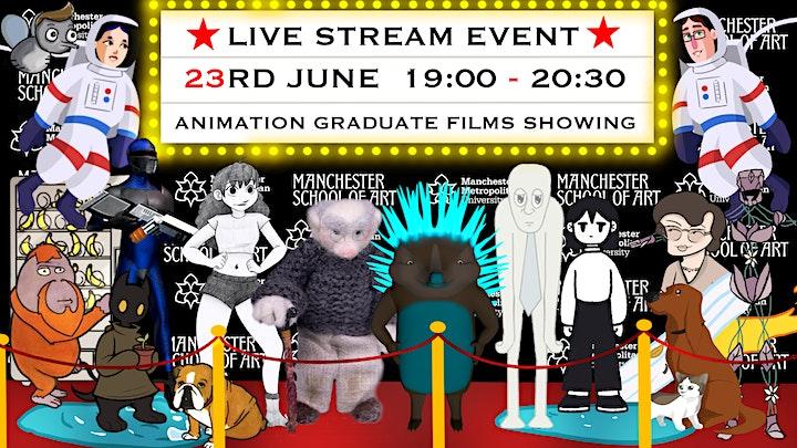BA  (Hons) Animation Final Year screening image