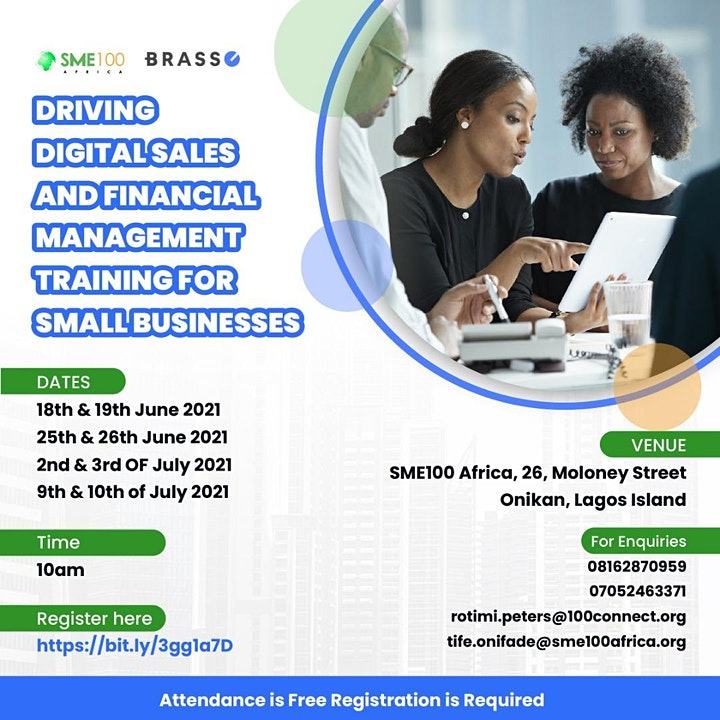 DRIVING DIGITAL SALES & FINANCIAL MANAGEMENT TRAINING FOR SMALL BUSINESSES image