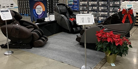 Special Event Demonstration of Premium Massage Chairs tickets