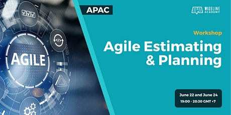 APAC_Agile Estimating & planning workshop tickets