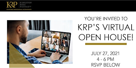 KRP's Virtual Open House tickets