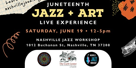Live Juneteenth Jazz and Art  Experience tickets