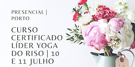 Curso Certificado de Líder de Yoga do Riso - Porto bilhetes