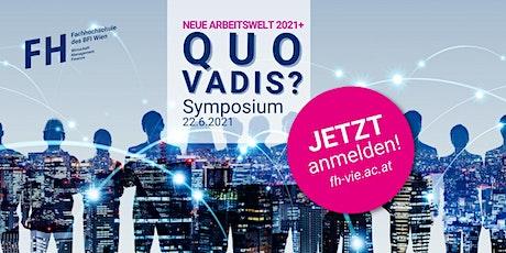 Neue Arbeitswelt 2021+ Quo Vadis? Tickets