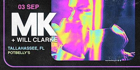 MK + Will Clarke in the Garden tickets