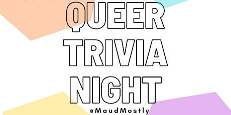 Queer Trivia Night: Pride Edition! tickets