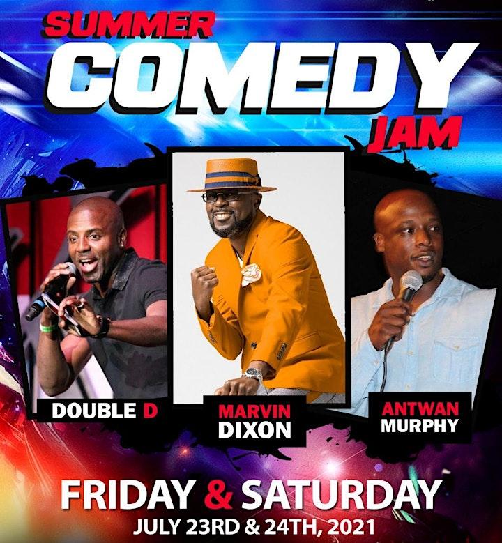 PK Summer Comedy Jam - Marvin Dixon, Double D, Antwan Murphy image