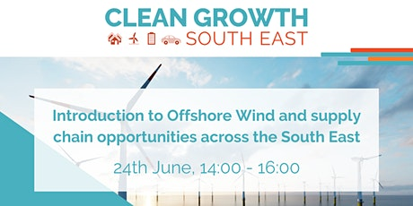 Introduction to Offshore Wind  Opportunities in the South East tickets