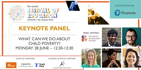 FoE Keynote Panel    What can we do about child poverty? tickets