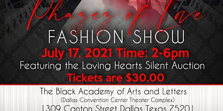 Phazez Of Love Fashion Show tickets
