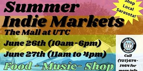 Summer Indie Markets at University Town Center tickets