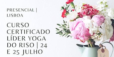 Curso Certificado de Líder de Yoga do Riso - Lisboa bilhetes