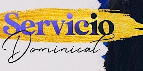 1er. Servicio Dominical - Domingo 20 de Junio entradas