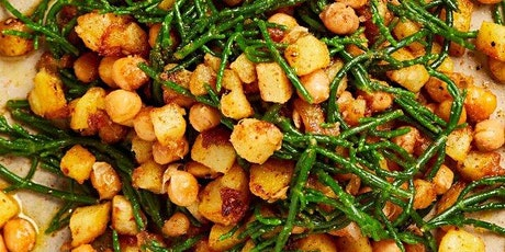 Platewell Vegan Cooking Class l Samphire, Potato, Chickpea Chaat tickets
