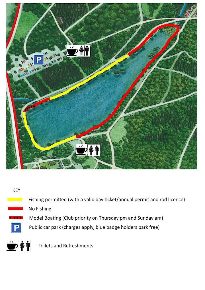 Fishing DAY TICKET - Black Park (Summer 2021) image