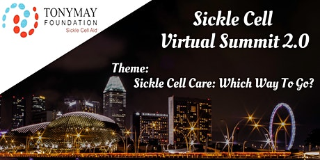 TonyMay Sickle Cell Virtual Summit 2.0 tickets