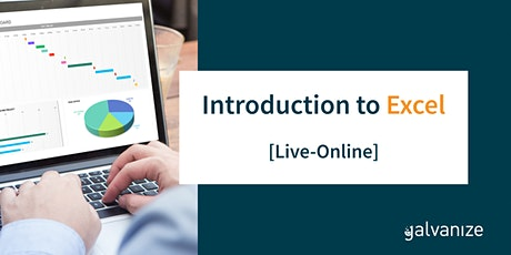 Introduction to Excel [Live-Online] tickets