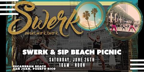 Swerk & Sip Beach Picnic tickets