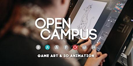 Tag der offenen Tür | SAE Mediencampus Leipzig  - Game Art & 3D Animation Tickets