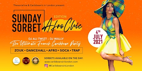 Sunday Sorbet  - Afro Chic Edition tickets
