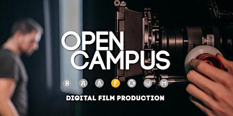 Tag der offenen Tür | SAE Mediencampus Leipzig  - Digital Film Production Tickets
