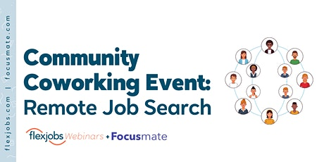 Community Coworking Event: Remote Job Search tickets