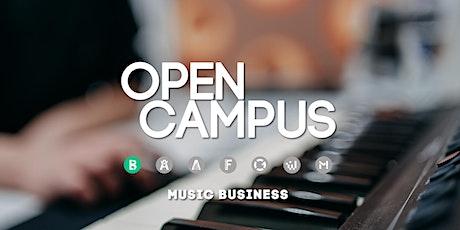 Tag der offenen Tür | SAE Mediencampus Leipzig  - Music Business Tickets