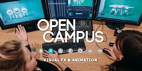 Tag der offenen Tür | SAE Mediencampus Leipzig  - Visual FX & 3D Animation Tickets