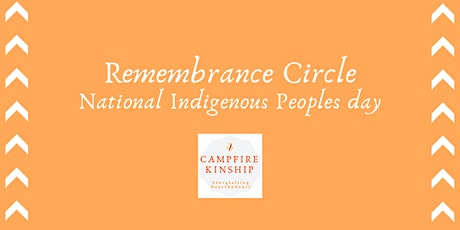 Remembrance Circle - National Indigenous People's Day tickets