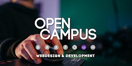Tag der offenen Tür | SAE Mediencampus Leipzig  - Webdesign & Development Tickets