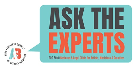 Ask the Experts: Business & Legal Clinic for Artists, Musicians & Creatives tickets