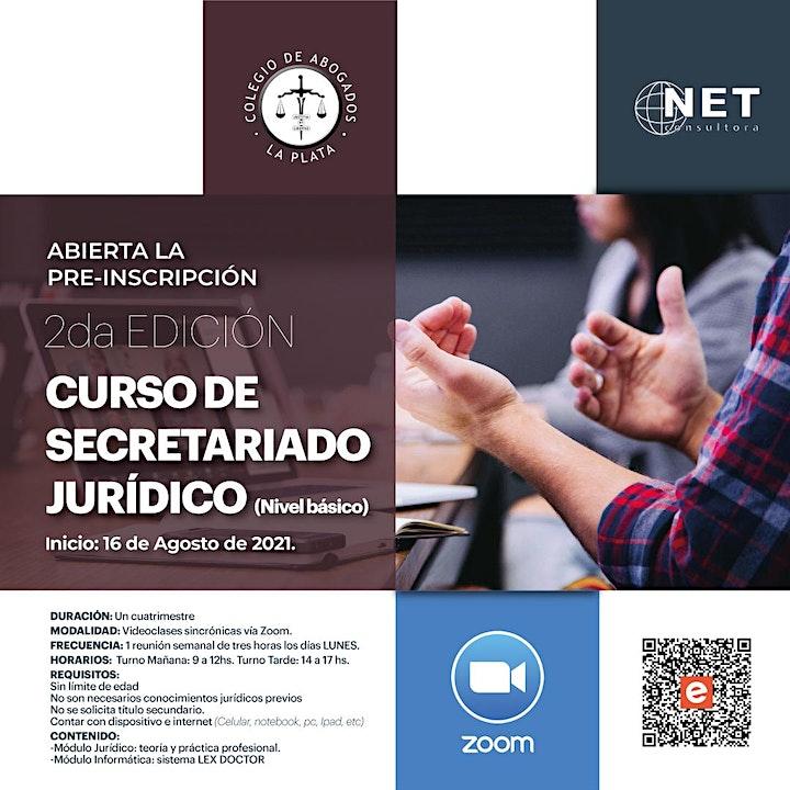 Imagen de 2da Edición, Curso Secretariado Jurídico Nivel Básico 2021